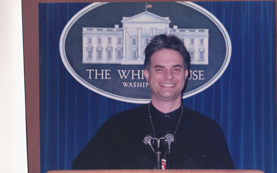 invited guest - White House Briefing Room - 2000