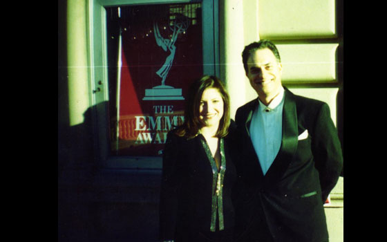 Celebrating membership in Academy of Television Arts & Sciences - Emmy Awards telecast - 2001