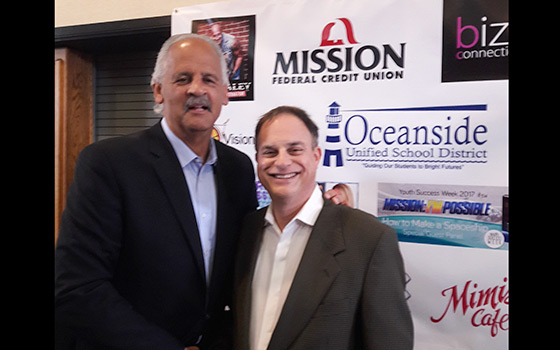 With Stedman Graham - Helping Him To Organize And Produce Youth Success Week - 2017
